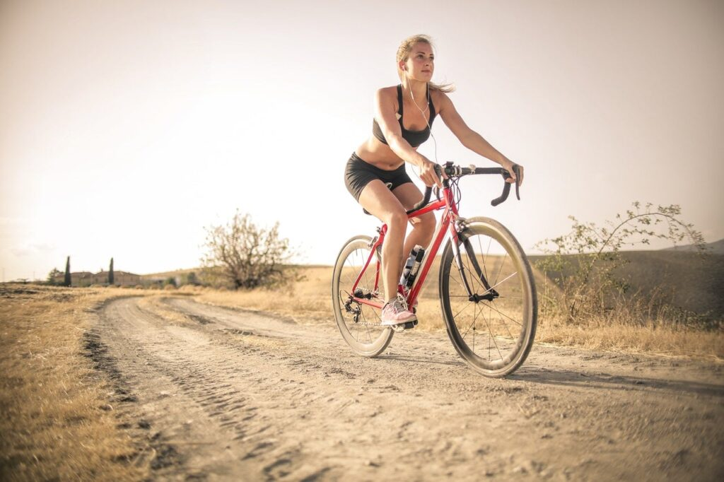 can cycling reduce weight